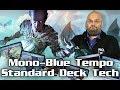 "$30 ""Budget"" INSANE Mono Blue Tempo Standard Deck Tech for Guilds of Ravnica – MTG!"