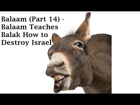 Balaam (Part 14) - Balaam Teaches Balak How To Destroy Israel (Num 24:14 - Num 25:5)