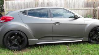 2016 Veloster Turbo MBRP Catback with Tork Motorsports Catless Downpipe