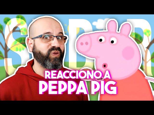🐷 REACCIONO A PEPPA PIG