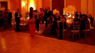 Farah, of Farah's Mirage Belly Dancing at Persian Wedding