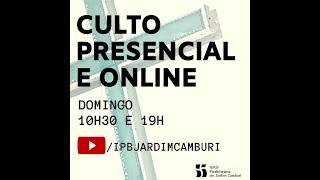 Culto Matutino - 20/12/2020 | Princípios da administração cristã
