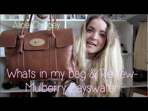 Mulberry Bayswater Review   Whats in my bag  ebe7991560610