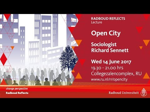 Open City | Lecture by sociologist Richard Sennett