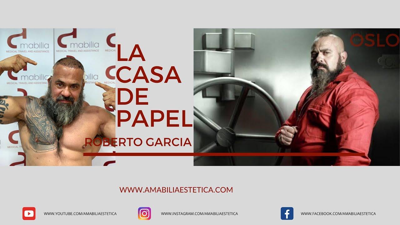 Roberto Garcia Oslo La Casa De Papel Money Heist Hair Transplant Injerto Capilar Youtube