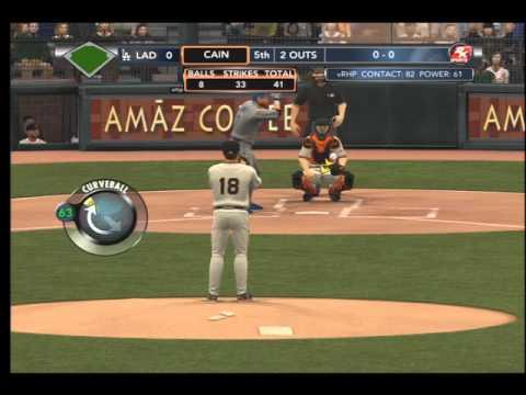 MLB 2k12 Matt Cain Perfect Game -Pro level-
