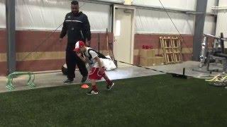 8 year old jeter breaks world record 40 yard dash