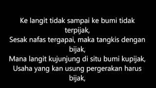 Download Mp3 Bukan Mudah - Malique Feat Nukilan.