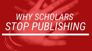 Why Scholars Stop Publishing