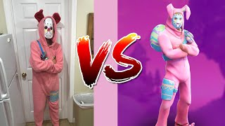 Making The Rabbit Raider Costume From Fortnite! Fortnite Cosplay In Real Life
