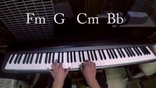 МАКС КОРЖ - ЗА ТОБОЙ,ОБУЧЕНИЕ,КАК ИГРАТЬ НА ПИАНИНО,piano tutorial