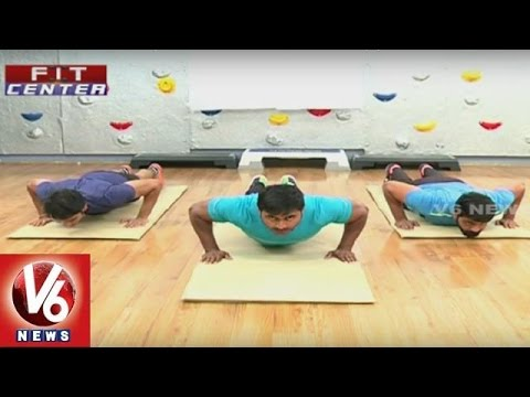 Fit Center   Trainer Venkat Fitness Tips to Build Chest Muscle   Fitness with Equipment   V6 News