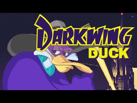 Darkwing Duck (Demo). PC [No Death Walkthrough / Прохождение без смертей]