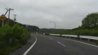 北海道道437号羽幌原野古丹別停車場線 苫前町古丹別~道道747号交点 ...