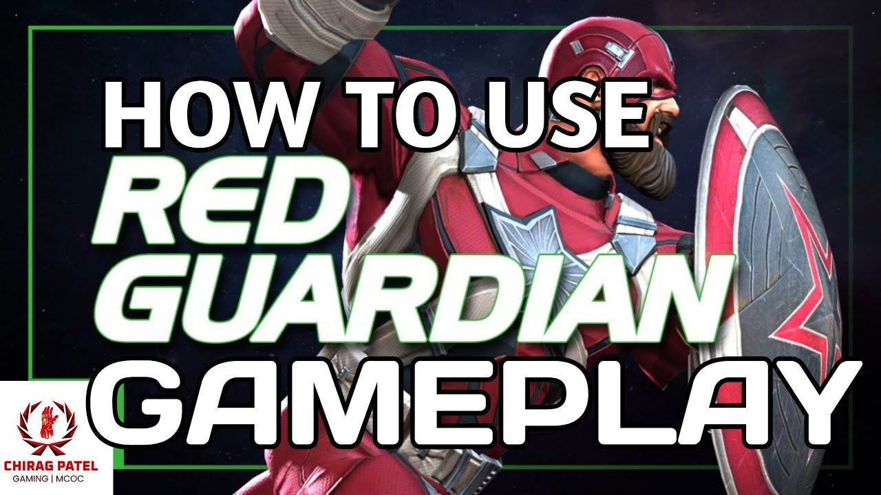 How to use red guardian ! Mcoc ! Hindi !!