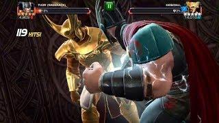 Marvel Contest Of Champions Thor Ragnarok Vs Heimdall