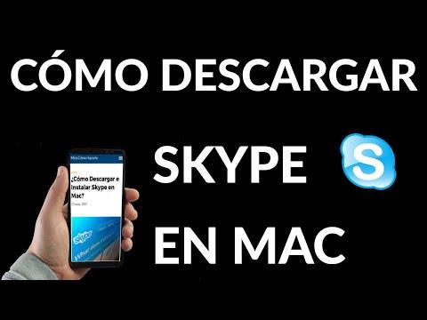 Cómo Descargar e Instalar Skype en Mac