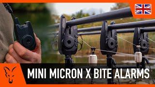 2 3 /& 4 Rod Sets Fox Carp Fishing Mini Micron X Bite Alarm Presentation Sets