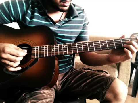 O O jane jana intro guitar tune   Vidhaat cover