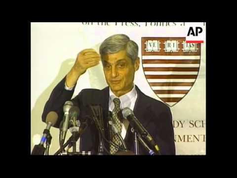 USA: ROBERT RUBIN SPEAKS ON THE 1998 IMF LOANS TO RUSSIA