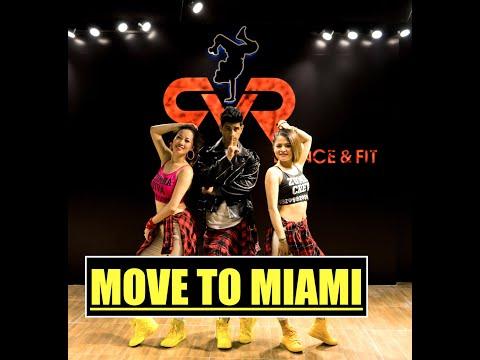 Move to Miami - Enrique Iglesias, Pitbull - Easy Fitness Dance Choreography   Zumba®   Pop