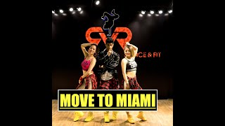 Move to Miami - Enrique Iglesias, Pitbull - Easy Fitness Dance Choreography | Zumba® | Pop