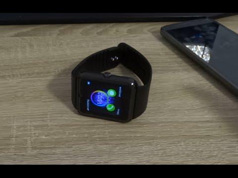 Умные часы GT08 с SIM картой. Видео и фото тест.