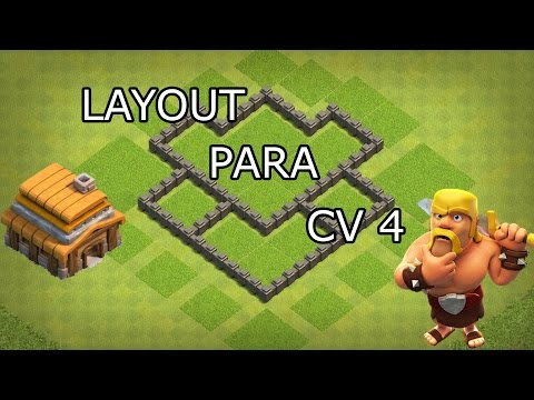 608 - Layout Cv 4 Clash Of Clans