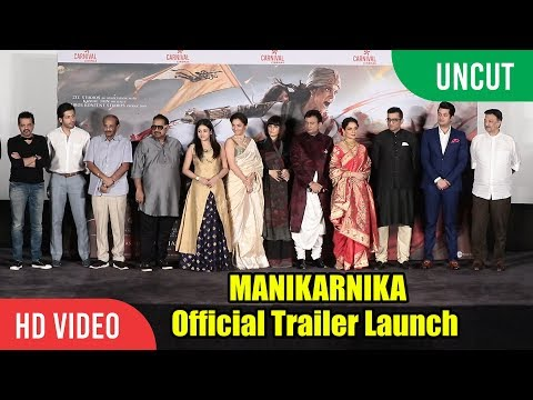 Manikarnika - The Queen Of Jhansi Official Trailer Launch | FULL VIDEO | Kangana Ranaut Mp3