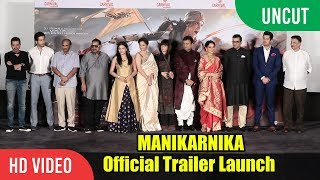 Manikarnika - The Queen Of Jhansi Official Trailer Launch | FULL VIDEO | Kangana Ranaut