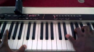 Gospel piano tutorial- Roughside of the mountain