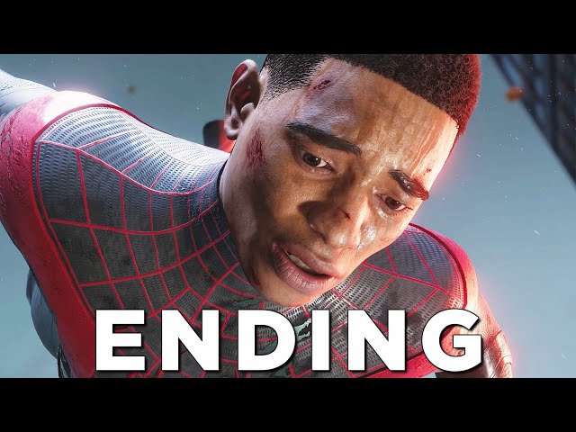 SPIDER-MAN MILES MORALES PS5 ENDING / FINAL BOSS - Walkthrough Gameplay Part 16 (Playstation 5)