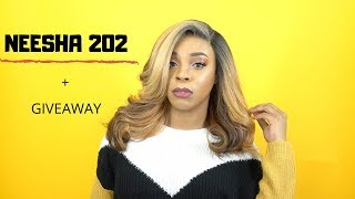 Outre Synthetic Lace Front Wig - NEESHA 202 +GIVEAWAY --/WIGTYPES.COM