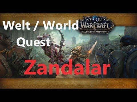 Wüstenkriecherei / Desert Crawl Welt/World Quest by iZocke