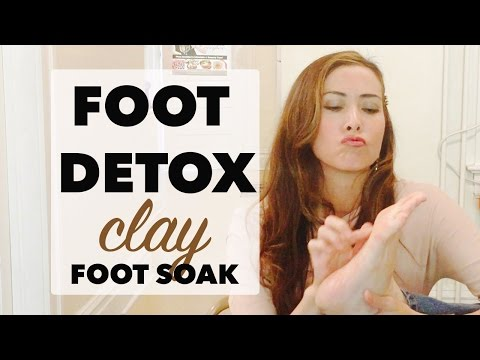 How to Remove Toxins in the Body – a Foot Detox Bath is One Way