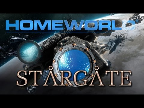 Stargate Space Conflict - Fighting the Wraith (Homeworld Remastered Workshop)