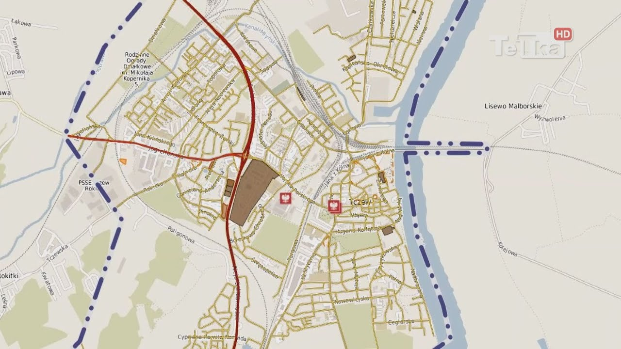 Sip Wirtualna Mapa Tczewa Tv Tetka Tczew