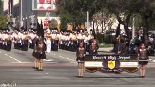 Bassett HS - The Thunderer - 2015 Azusa Golden Days Parade