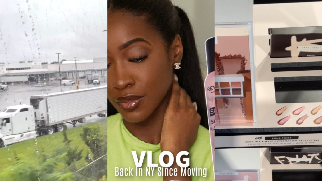 Weekly Vlog: Back In NY Since Moving & I'm Stressed