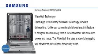 Samsung Appliance Built In Fully Integrated Dishwasher DW80J7550UG at www.appliancesconnection.com