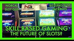 VISITING NEXT GAMING SLOTS HQ IN VEGAS | SKILL BASED SLOTS w/SIZZLING | NorCal Slot Guy