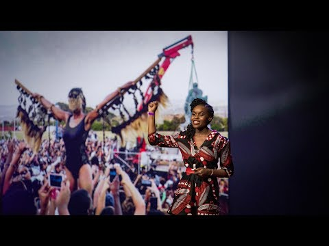 Download Youtube: Living sculptures that stand for history's truths   Sethembile Msezane