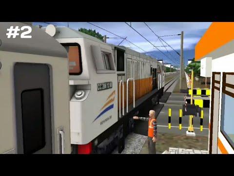 Trainz Simulator Indonesia Android |perjalanan Yang Sangat Sempit | Part Ll