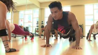 Video Mario Lopez Does High Intensity Workout STRONG by Zumba® download MP3, 3GP, MP4, WEBM, AVI, FLV Agustus 2017