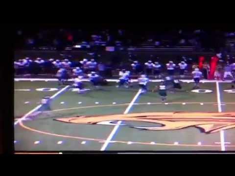 Glenn Morris # 5 - High School Football Highlights