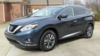 2015 Nissan Murano SL Start Up, Road Test, and In Depth Review