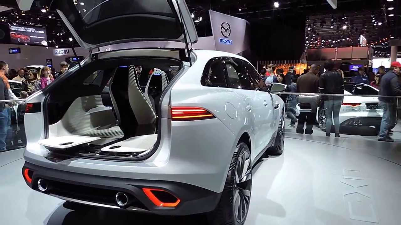 Jaguar F Pace Interior Suv Concept At The Detroit Auto Show 2017