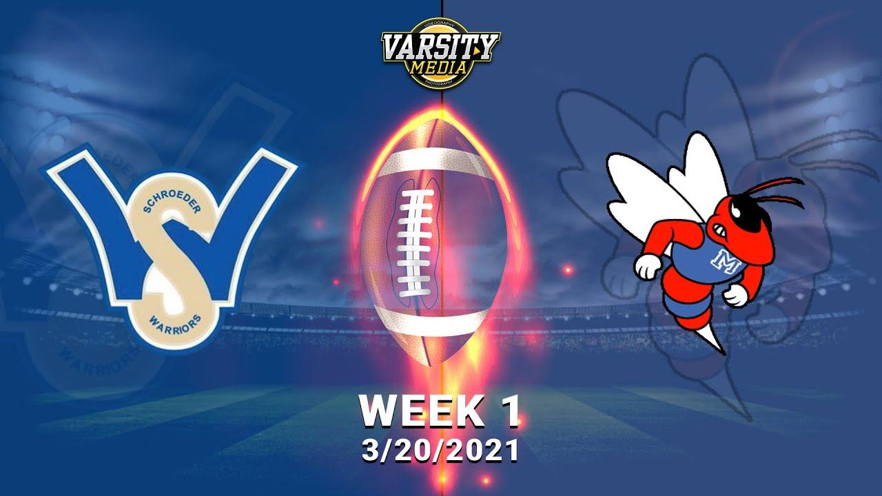 Webster Schroeder vs. Monroe I JV Football