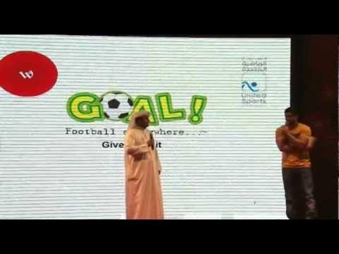Give Kuwait 2012 - GOAL!