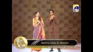 Mohsin Abbas Haider & Mahira Khan-10th LUX Style Awards 2011